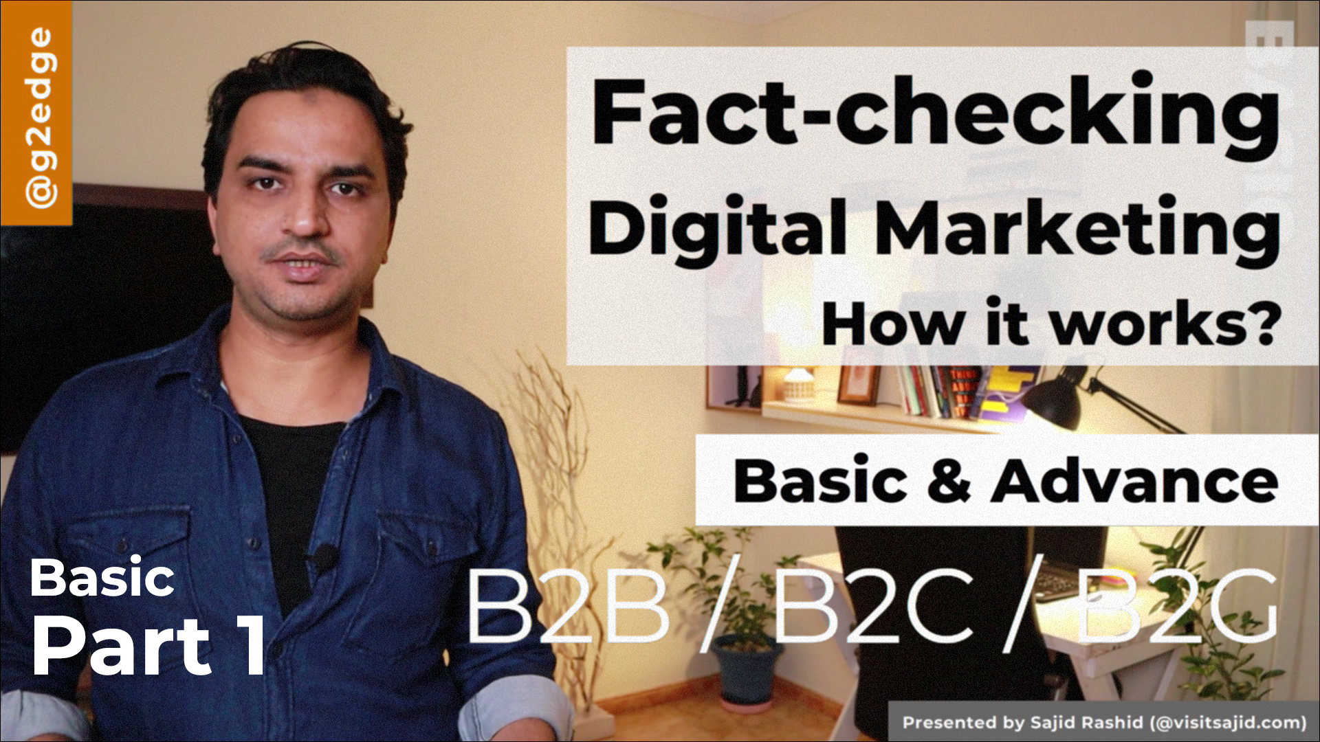 Fact-Checking Digital Marketing Basic Part 1